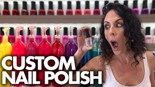Download Making Our Own Custom NAIL POLISH! (Beauty Trippin) Mp3 and Videos
