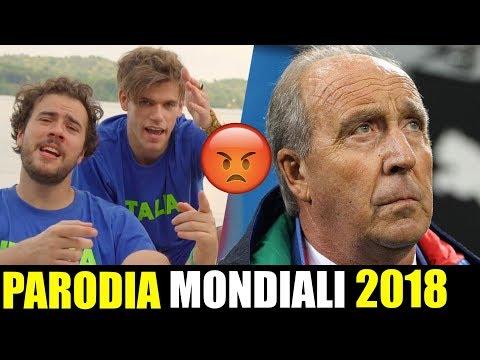 PARODIA MONDIALI 2018(Francia-Croazia 4-2)