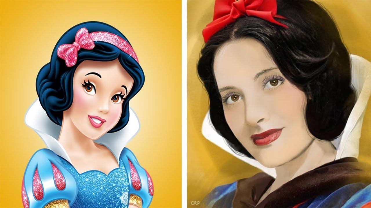 Disney Princesses Look Like Voice Actors In Real Life ...