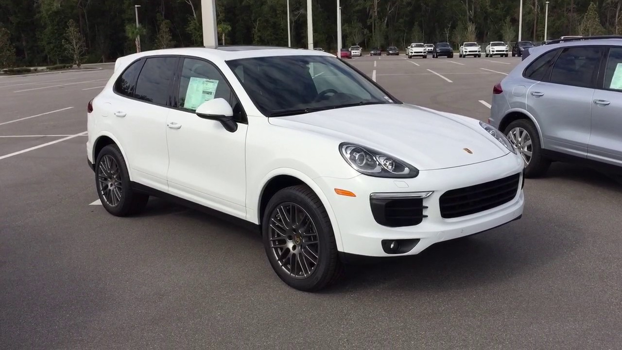 2017 Porsche Cayenne Platinum Edition And Hybrid At Of Ocala You