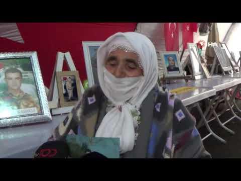 90 yaşında evlat hasretine dayanamadı, HDP önündeki ailelere katıldı