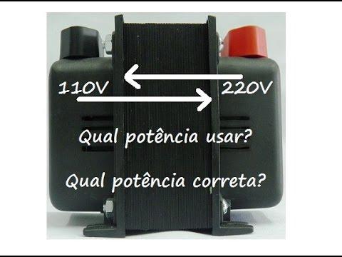 Transformador 220 para 110 ou de 110 para 220 qual usar - Transformador 220 a 110 ...