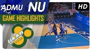 ADMU vs NU | Game Highlights | UAAP 80 Men's Basketball | October 18, 2017