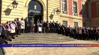 Yvelines | Un hommage sobre rendu à Stéphanie M., assassinée à Rambouillet