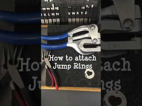 How to Attach Jump Rings to Jewelry