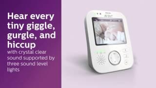 Philips Avent SCD630/52(Philips Avent SCD630 umožňuje neustálý kontakt s vaším dítětem – bezpečně a důvěrně. Své dítě uslyšíte v dokonalé zvukové kvalitě a rovněž ho uvidíte díky ..., 2016-04-27T07:34:11.000Z)