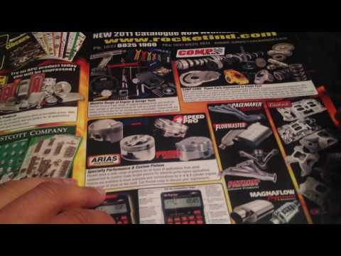 ASMR Car Magazine Tracing & Talking Sounds