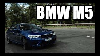 BMW M5 F90 (PL) - trochę za szybki test i jazda próbna