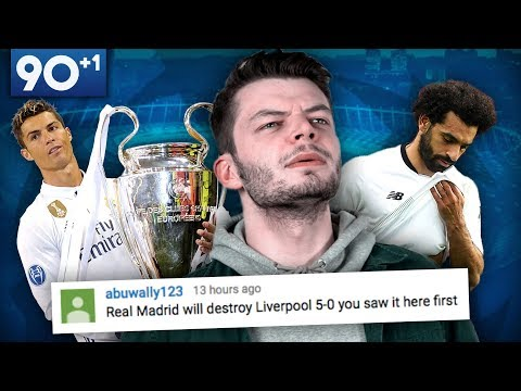 """""""Real Madrid Will DESTROY Liverpool In The Champions League Final"""" 