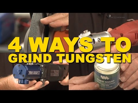 🔥 4 Easy Ways to Grind Tungsten for TIG Welding   TIG Time