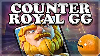 How to COUNTER Royal Giant The RIGHT WAY | Clash Royale 🍊