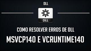 Como Resolver Erros MSVCP140.dll e VCRUNTIME140.dll - PUBG LITE E OUTROS