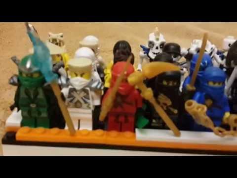 Lego Ninjago Моя Коллекция Минифигурок (обзор)