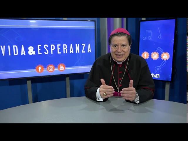 Padre Jorge Pacheco Romero - Monseñor José Rafael Quirós Quirós