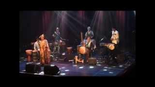 Music from Guinée and Mali by Mokumfoli (kora, balafon, percussion, voice and dance)