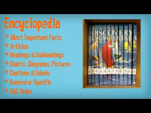 Dictionaries and Encyclopedias for children