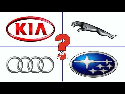 Изучаем марки машин. Тест для детей