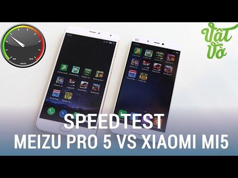 Vật Vờ| So sánh hiệu năng Xiaomi Mi5 và Meizu Pro 5