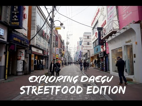 Bonnie Goes to Korea | Exploring Daegu Street Food Edition