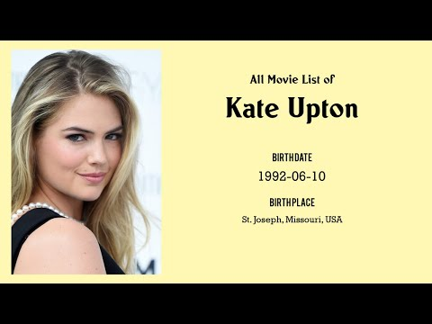 Kate Upton Movies list Kate Upton| Filmography of Kate Upton