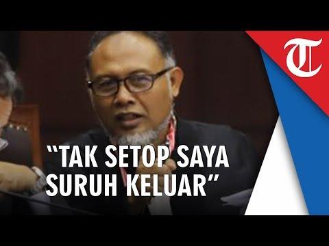Video Hakim MK Ancam Usir Bambang Widjojanto: Kalau Tak Setop Saya Suruh Keluar