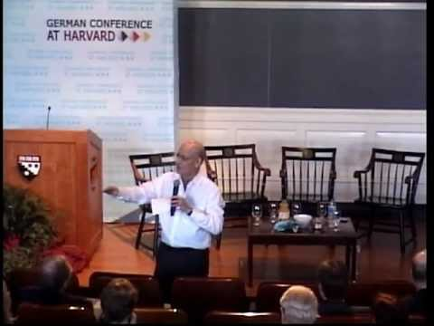 Jeremy Rifkin Energy @ German Conference at Harvard 2012