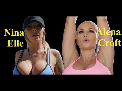 Nina Elle & Alena Croft The Hot Body   Some HotStuff#5