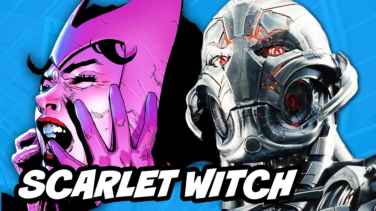 avengers age of ultron scarlet witch explained youtube