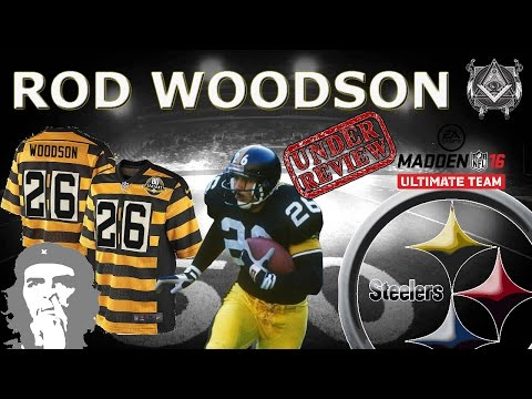 UL 98 Rod Woodson Review Gameplay ultimate legend mut h2h madden 16