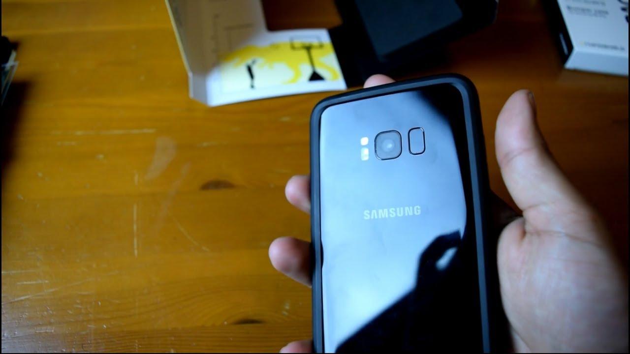 timeless design c1d4f 00306 Samsung Galaxy S8 Plus RhinoShield CrashGuard Bumper (Case)