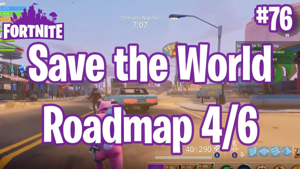 New Map Coming Soon Save The World Roadmap Fortnite 76 Youtube