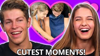 BEST Lexi Rivera & Ben Azelart DATES - Cutest Dating Show Moments - Make My Date FULL MARATHON