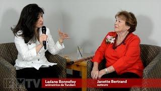 Mme Janette Bertrand est l'invitée à Tandem avec Ladane Bonnefoy
