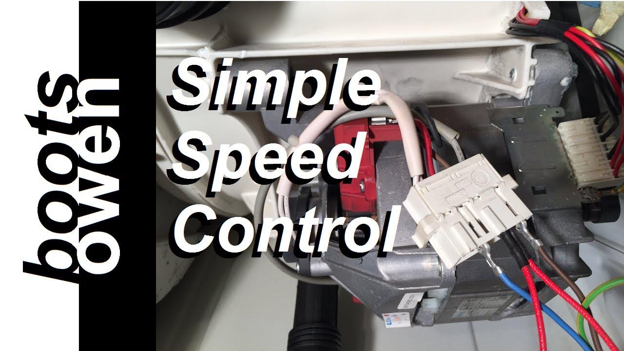 universal motor wiring diagram oracle rac architecture washing machine explained youtube