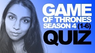 Girlfriends Game of Thrones Quiz (S4E1-6) Thumbnail