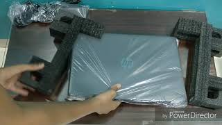 Unboxing Of The HP 15 APU A9 CORE Laptop.
