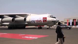 Nissan Patrol Pulls Il-76 Cargo Plane For Guiness World Record