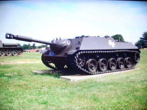 U.S. Army Ordnance Museum Tanks