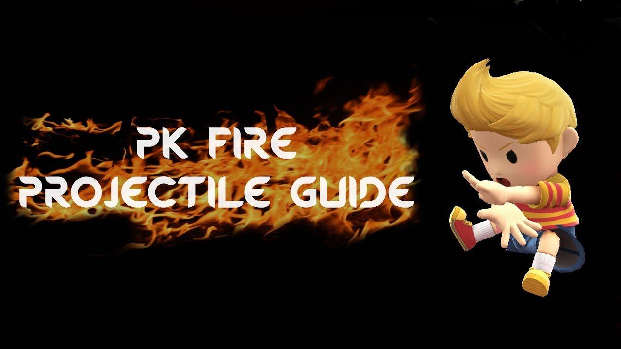 Lucas PK Fire Guide: Cancelling Projectiles [Smash 4]