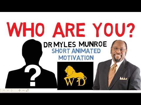 The Principles of Success by Dr Myles Munroe. HOW TO KNOW YOUR PURPOSE.