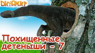 Мультфильм для детей Тираннозавры в поисках пропавших Тираннозавров. Мультики про динозавров