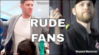 Rude Fans To Supernatural Cast At Conventions (Part 2)