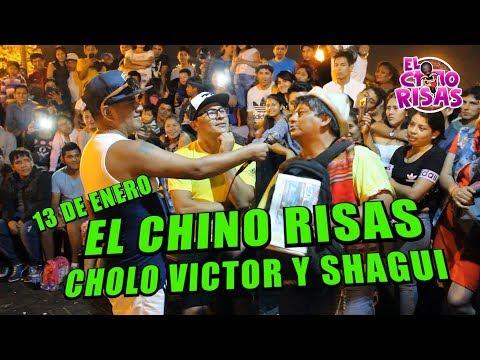 El Chino Risas Junto a Cholo Victor y Shagui Alameda Chabuca 13 De Enero 2019