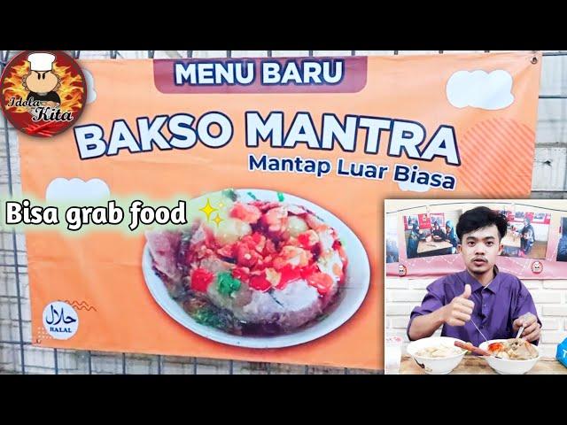 NYOBAIN MENU BARU IDOLA KITA | BAKSO MANTRA