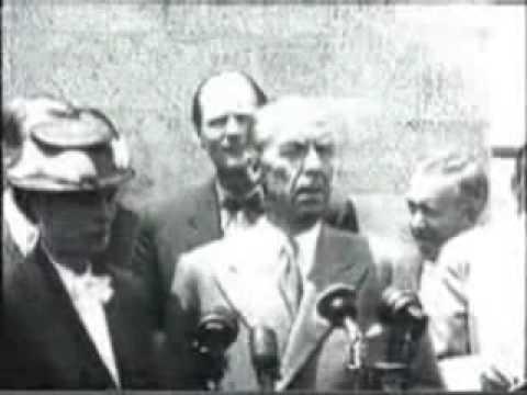 The assassination of Bernadotte
