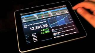 Yahoo! Finance MarketDash iPad App