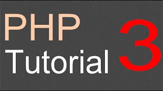 PHP Tutorial for Beginners - 03 - First script
