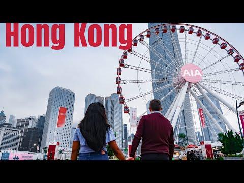 Hong Kong Vlog | Symphony of lights | Victoria Peak and more