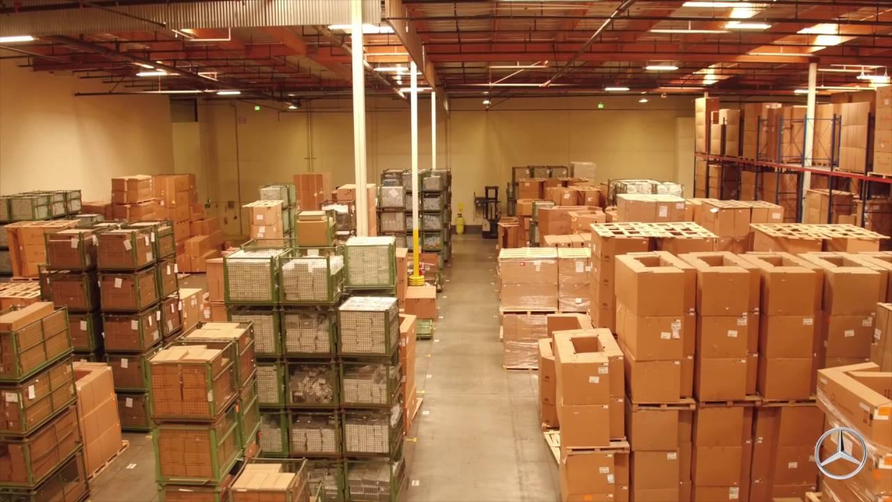 High Quality Mercedes Benz USA Parts Distribution Center Fontana, CA