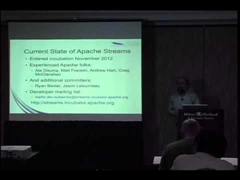 Apache Streams : Enterprise Social Integration